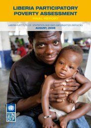 Liberia Participatory Poverty Assessment FINAL REPORT