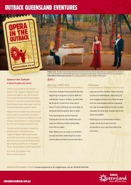 Opera in the Outback - Queensland Holidays
