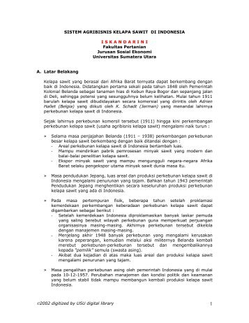 DAFTAR ISI - USU Library - Universitas Sumatera Utara