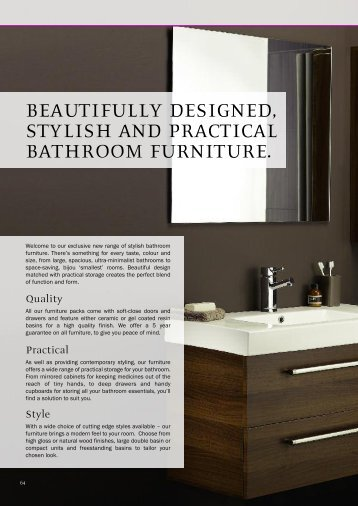 beautifully designed, stylish and practical ... - Brands of Watford