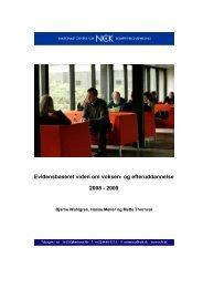 Viden om VEU, elektronisk - NCK - Aarhus Universitet
