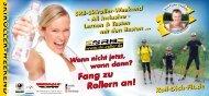 SRB-Skiroller-Weekend - Thüringer Wald