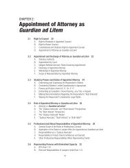 Appointment of Attorney as Guardian ad Litem - Indigent Defense ...