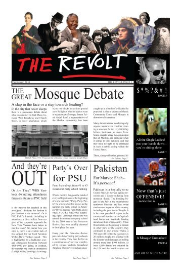 The Revolt, Issue 3 - Penn State Wilkes-Barre - Penn State University