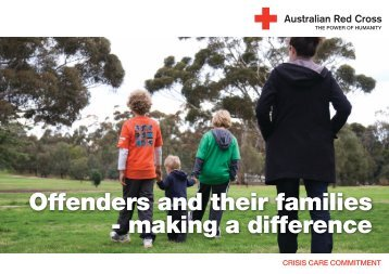 Offenders and their families - Australian Red Cross