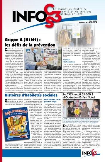 Volume 1 Numéro 4 - Centre de santé et de services sociaux de Laval