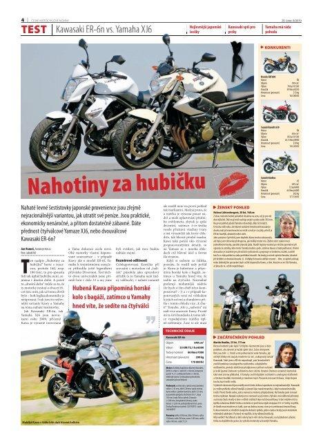 Test Kawa Er 6n Vs Yamaha Xj6pdf Bikescz