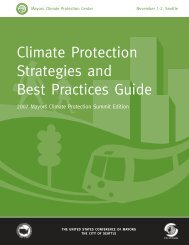 2007 Climate Protection Strategies and Best Practices Guide - U.S. ...
