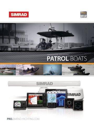 PATROL BOATS - Simrad Professional Series - Simrad Yachting