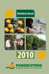 Relatório Anual 2010 - Fundecitrus