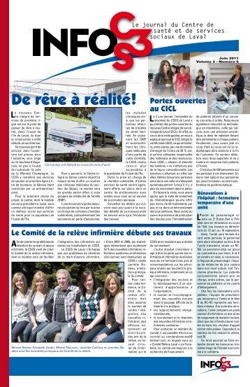 Volume 3 Numéro 5 - Centre de santé et de services sociaux de Laval