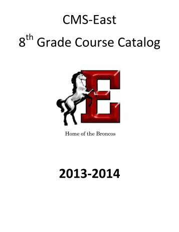 8th Grade Course Catalog - Coppell Independent School District
