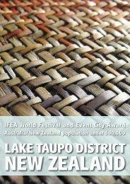 NEW ZEALAND IFEA World Festival And Event City - International ...