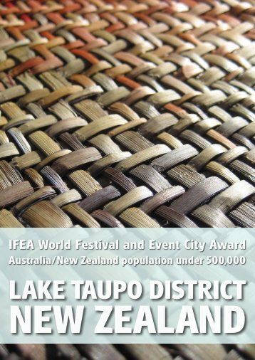 NEW ZEALAND IFEA World Festival And Event City - International ...