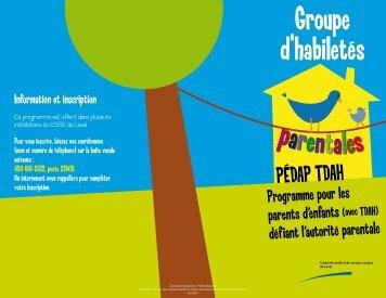 PÉDAP TDAH.pdf - Centre de santé et de services sociaux de Laval