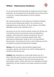 DFBnet – Elektronische Postfächer - Kreis 4 Beckum