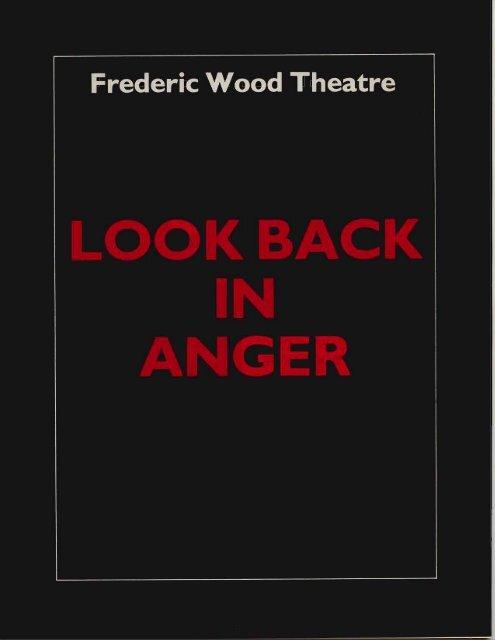 Frederic Wood Theatre - Theatre at UBC - University of British ...