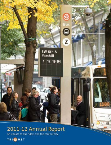 2011-12 Annual Report - TriMet