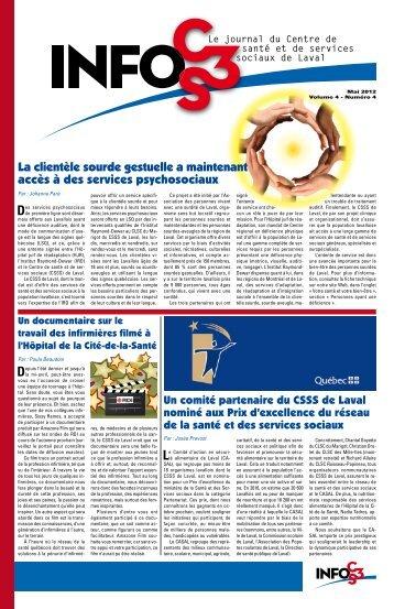Volume 4 numéro 4 - Centre de santé et de services sociaux de Laval