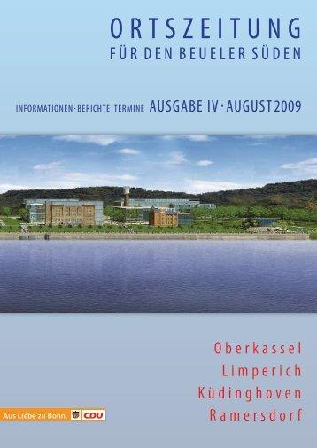 Unsere Ortszeitung - CDU-Kreisverband Bonn