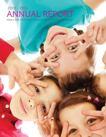 annual report - Family and Children's Services of the Waterloo Region