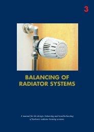 BALANCING OF RADIATOR SYSTEMS - SANKOM