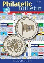 5 February 2010 - United Nations Postal Administration