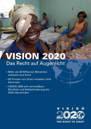 Broschüre VISION 2020 - Woche des Sehens