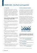 Broschüre VISION 2020 - Woche des Sehens - Seite 4