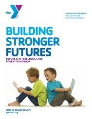Parent Handbook - YMCA of Orange County