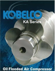 Download KA Series Brochure (pdf 715 kb) - Kobelco