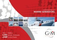 Marine Brochure - G&M Power Plant | Power generation equipment ...
