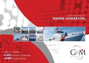 Marine Brochure - G&M Power Plant | Power generation equipment ...