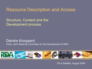 Structure, Content and the Development process by Deirdre Kiorgaard