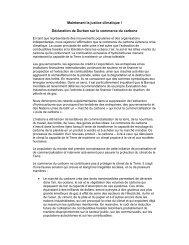 Déclaration de Durban sur le commerce du carbone - Carbon Trade ...