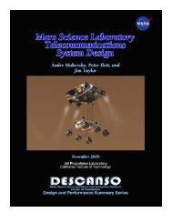 Mars Science Laboratory Telecommunications System Design