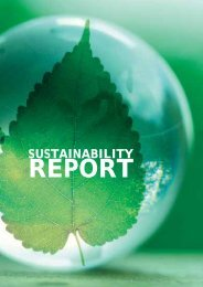 sustainability report - Genting Group