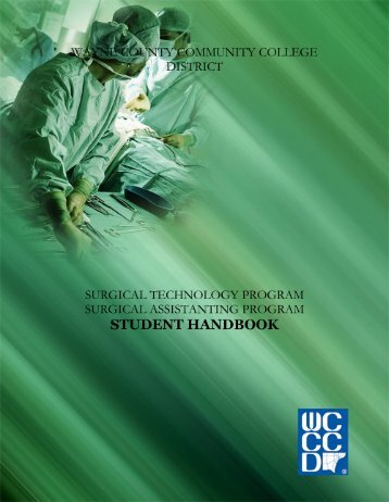 Surgical technology Handbook - Wayne County Community College