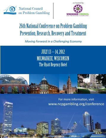 26th National Conference on Problem Gambling Prevention ...