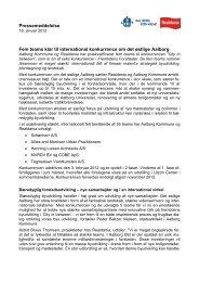 Pressemeddelelse 18. januar 2012 - Aalborg Kommune