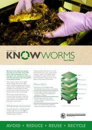 fact sheet about worm farms. - Zero Waste SA - SA.Gov.au