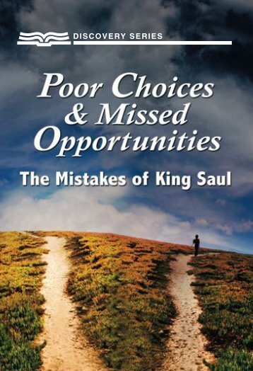 the Mistakes of King Saul - RBC Ministries