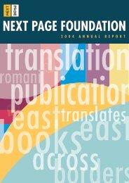 2004 - Next Page Foundation