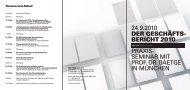 SEMINAR MIT PROF. DR. BAETGE IN MÜNCHEN - KMS Team