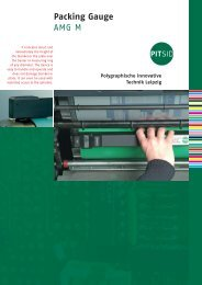 Packing Gauge AMG M - Sächsisches Institut für die Druckindustrie ...