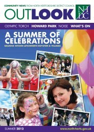 Outlook Summer 2012 - North Hertfordshire District Council