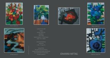 JOHANNA MITTAG - Galerie in der Sparkasse