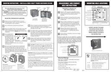 4500 Series Install Instructions - Knox Box