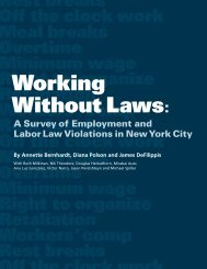 Working Without Laws: A Survey of Employment and Labor Law