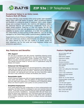 zip 53e ip telephones rh yumpu com